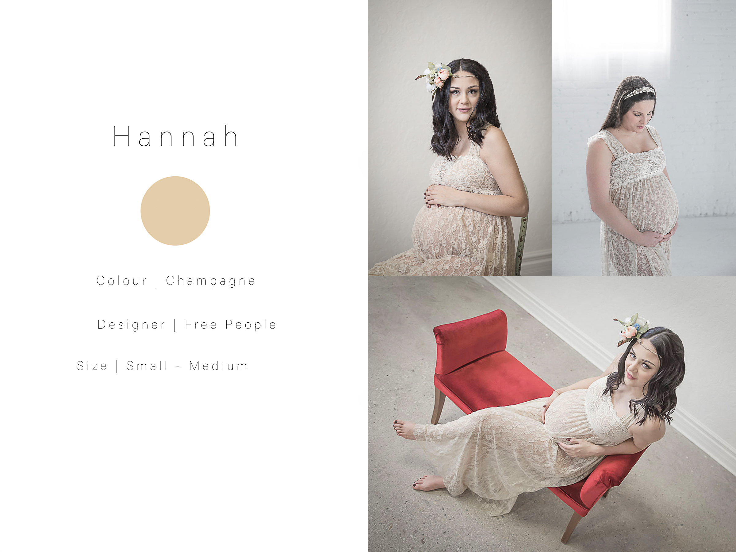 maternity photography client closet photos