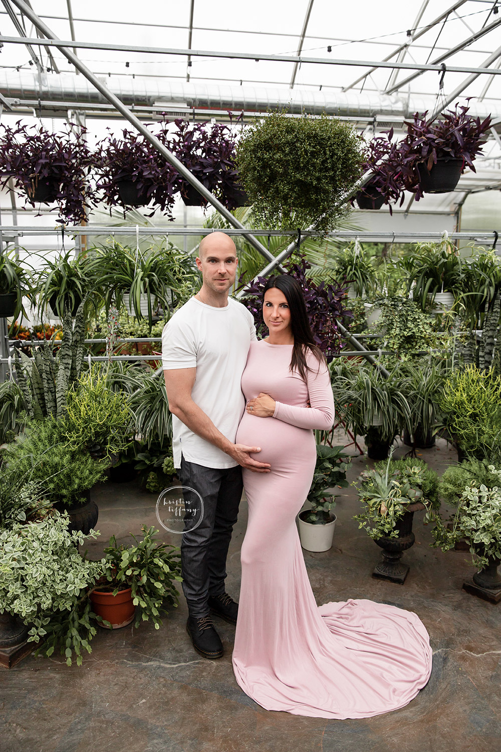 a maternity photo from a maternity photoshoot