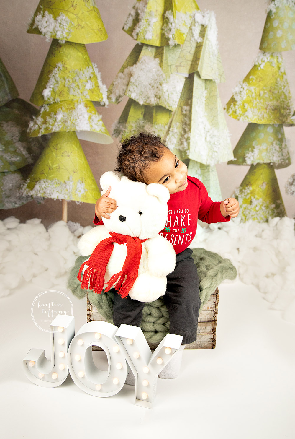 a photo from a christmas mini session