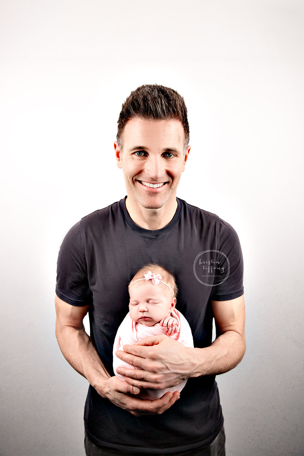 a photo from a newborn session with Kristin Tiffany Photography