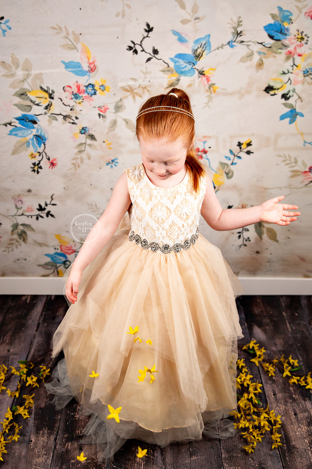 a photo from a kids photoshoot with Kristin Tiffany Photography