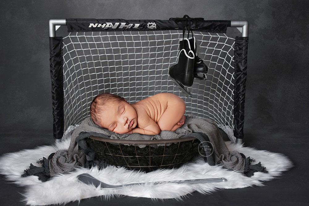a newborn composite photo by kristin tiffany photography