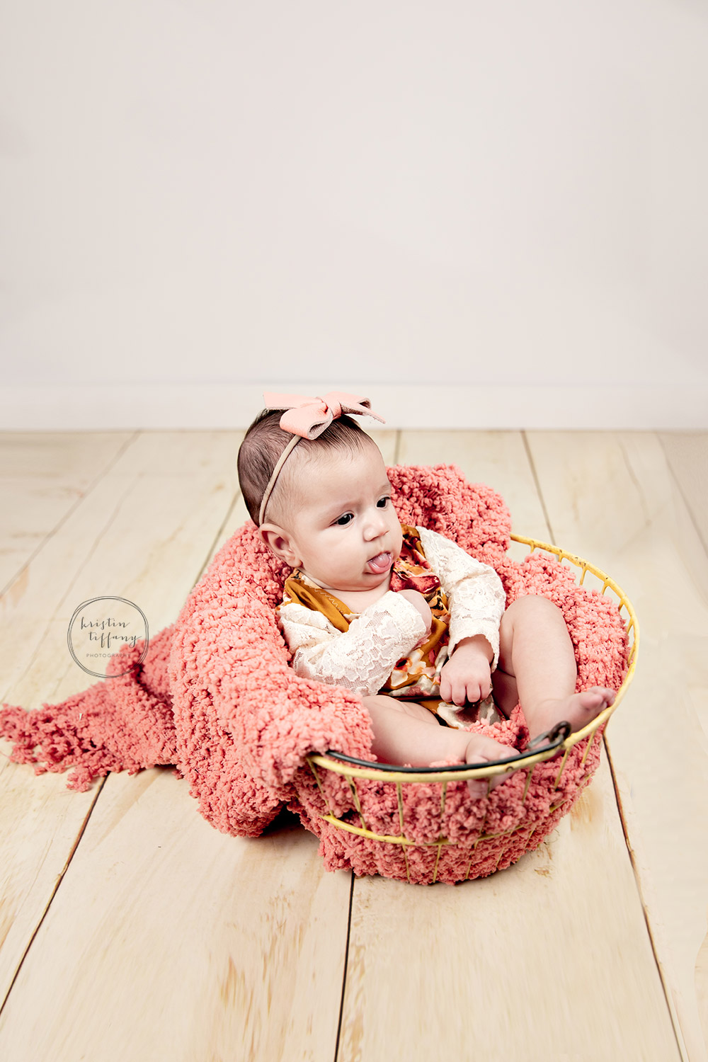 a photo from a baby photo session with Kristin Tiffany Photography