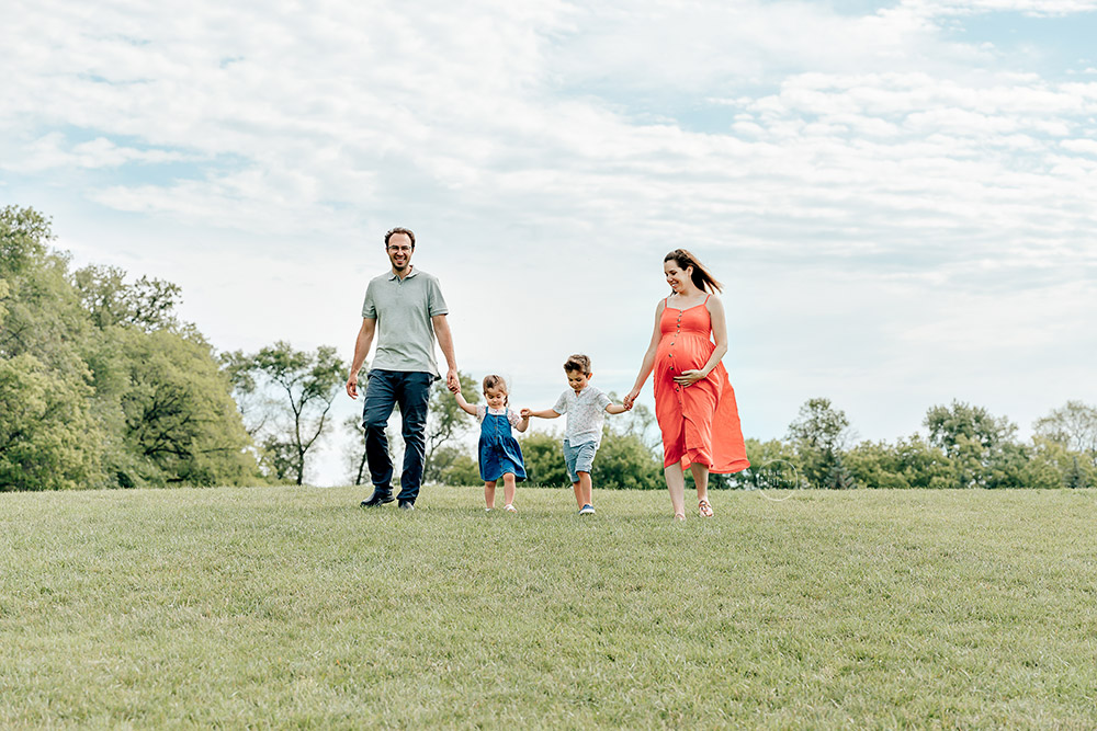 a photo from a Family Maternity Session with Kristin Tiffany Photography