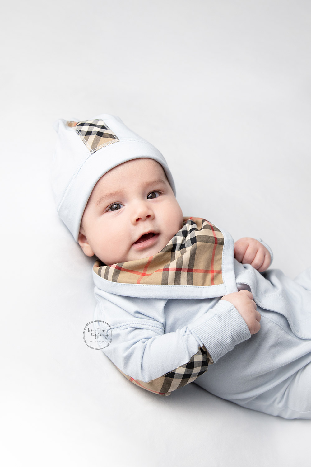 a photo from a baby session with Kristin Tiffany Photography