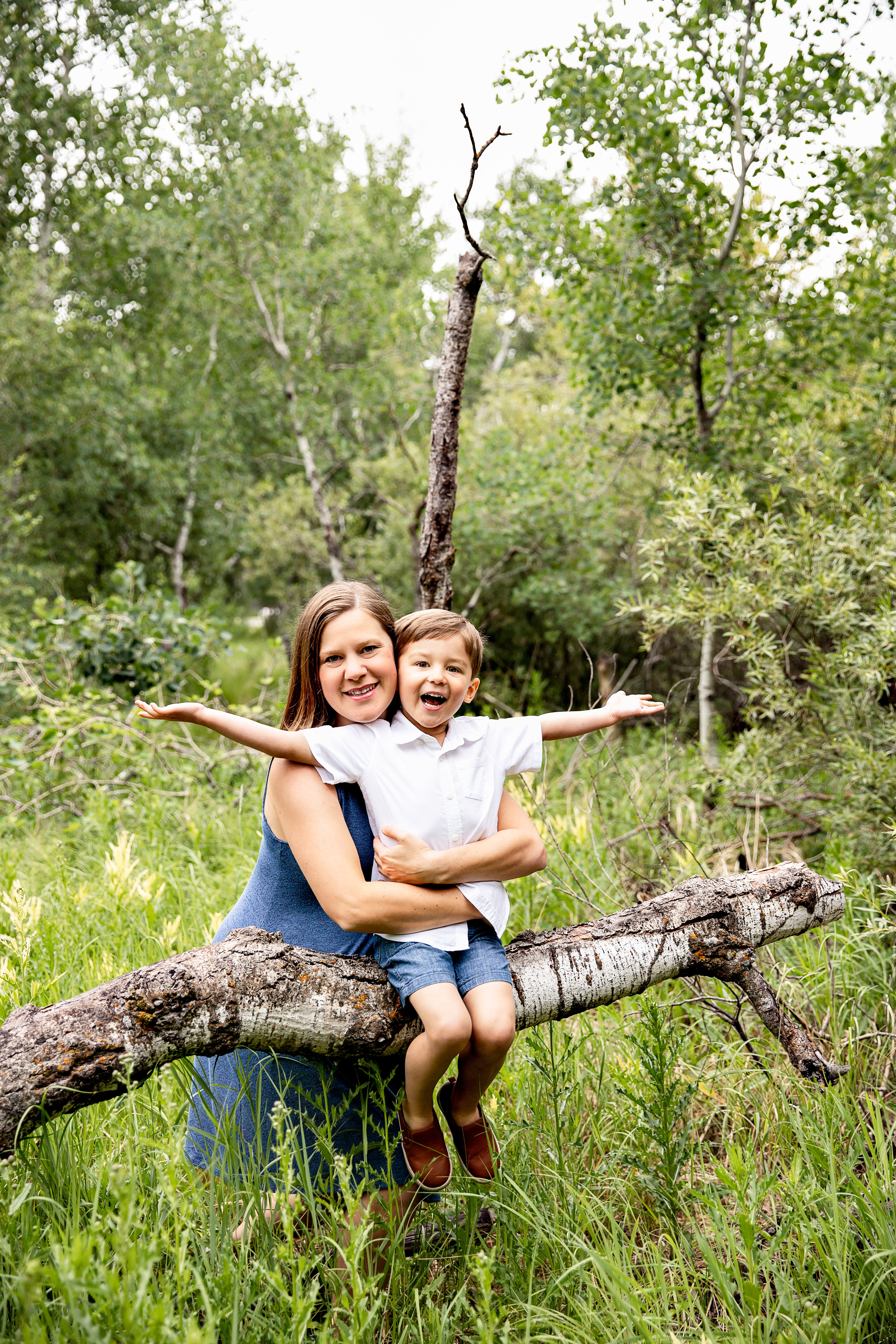 a photo from a Mini Family Session with Kristin Tiffany Photography